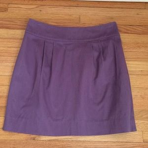 Silence + Noise muted lilac pleated mini